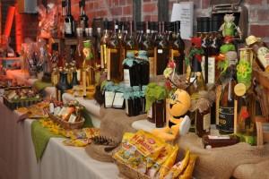 Auf der Via Mièle gab es eine große Vielfalt an Honig und Honigprodukten.