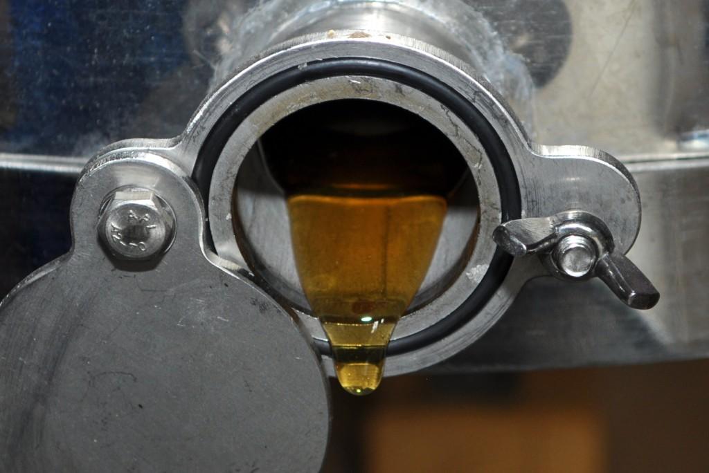 Hier fließt Honig in sattem Goldgelb mit einem Wassergehalt von 17,5 Prozent und unvergleichlichem Geschmack.